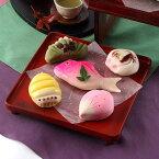 和菓子 練り切りあんで作った祝い菓子 引き菓子(小) 小浜屋菓子店・新潟県
