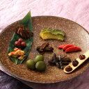 おかあちゃの食卓シリーズセット 日本一の星空阿智村より〔カリカリ小梅、しまうりの粕漬、きゃらぶき煮、梅かりかりブランデー漬、しいたけの田舎煮、竹の子の