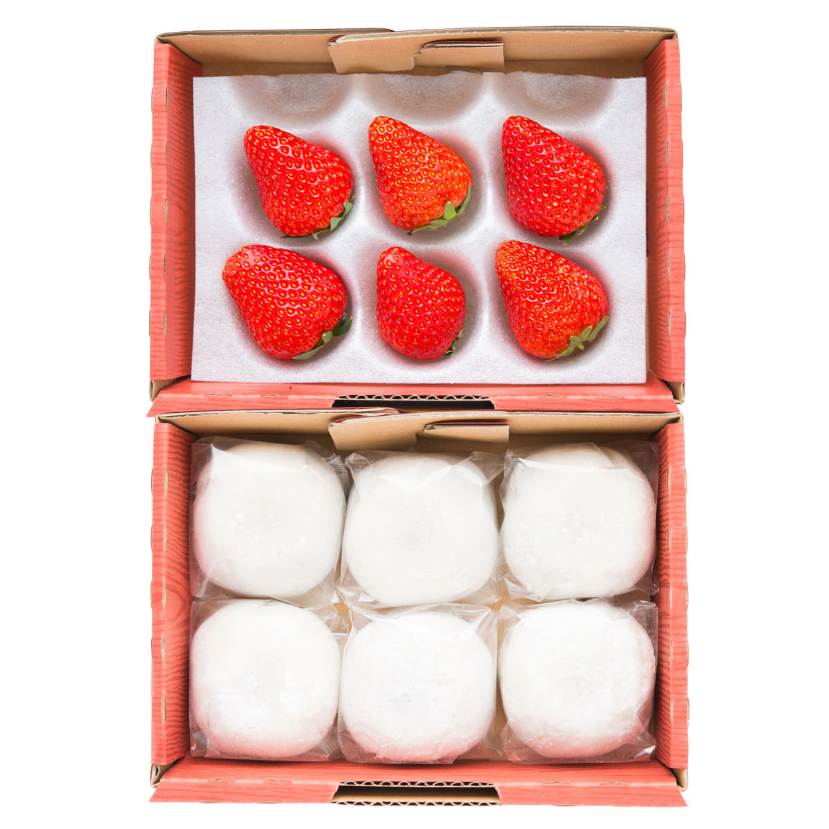 イチゴいちご大福6個セットいちごのしあわせ和菓子苺大福スイーツ農家直送愛知県産マーコ生菓子