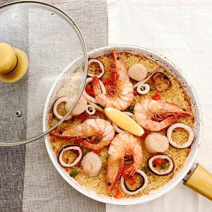 有頭えびのパエリアセット パエリア 惣菜 海鮮 ごはんもの 具材 簡単 炒めるだけ 簡単調理 調理セット 洋風惣菜 えび 海老 いか サフランライス 洋風惣菜 Manma