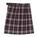 ビーステラ スクールスカート (ネイビー×レッド・BS505)