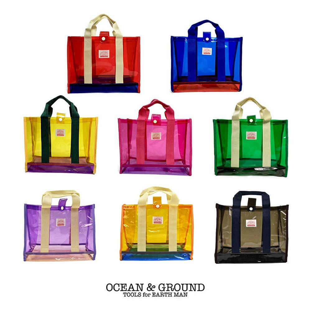 Ocean&Ground プールバッグ角型 全8色