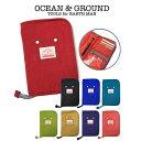 オーシャンアンドグラウンド Ocean&Ground 母子手帳ケース マルチケース 1715909