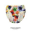 オーシャンアンドグラウンド(Ocean&Ground) キッズショーツ レッド【返品・交換不可商品】