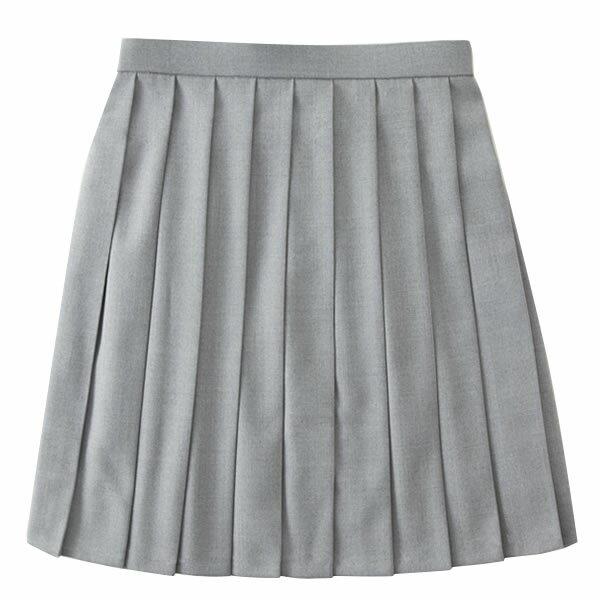 ROCONAILS スクールスカート グレー