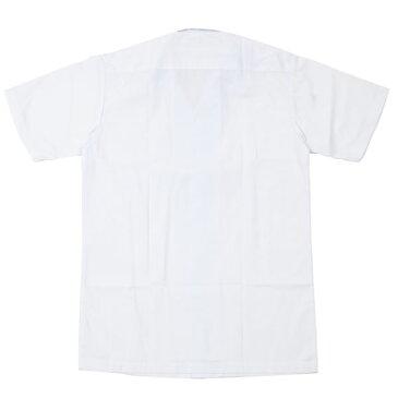 スクールシャツ 半袖 開衿 B体(撥水加工)カッターシャツ ワイシャツ Yシャツ【男の子 男子 学生服 制服 学ラン スクールワイシャツ 学生シャツ 中学生 スクールシャツ スクール 学生ワイシャツ 高校生 半袖シャツ 夏服 メンズ 開襟シャツ 夏用 学生 半袖スクールシャツ】