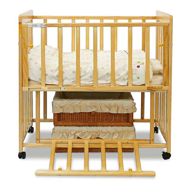 ミニベッドネルネル[ベビーベッドミニベビーベットベッドベット赤ちゃんベビーミニベッドハイタイプ木製ベビー寝具ベビー用品赤ちゃん用品出産準備出産祝い新生児子育て]