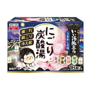 Хорошая горячая вода Negori Газированная вода Uruwashi no Yado 16 таблеток 4901559221129
