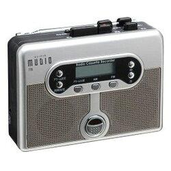 ヤマノクリエイツ  録音機能付 ラジオ&カセットレコーダー MUDIO 778