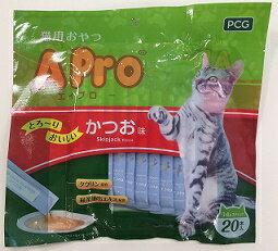 猫 おやつ とろ~り 食いつき抜群 水分補給にも 介護にも A Pro猫おやつ かつお味14g×20P