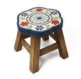 ラウント゛スツール イス゛ニック 家具 木製ラウンドスツール 椅子(イズニック) お土産 インテリアキッズチェアレトロ 木製 子供用椅子 かわいい プレゼント