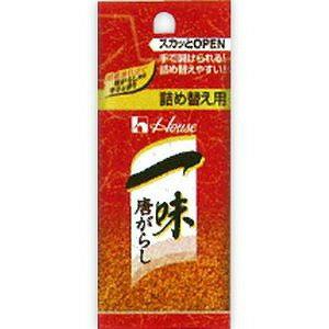 ハウス食品 一味唐がらし 袋入り 詰め替え用 12g