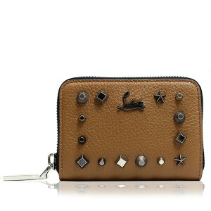 [Fashion THE SALE limited 10% OFF] Brand-new unused Louboutin coin case Ladies Christian Louboutin Christian Louboutin Coin purse Brown lb3175088-m845 Brand 2020 Woman She