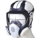 シゲマツ 放射能粉塵対応 取替え式全面形防じんマスク DR185L4N−1
