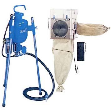 明治機械製作所 サンドブラストユニット SB-1AKF 【代金引換・後払い決済不可】
