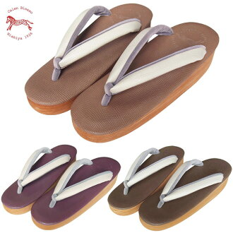 Macaron Cafe thongs, red bean, mocha Brown and white Mio ★ Nishijin fail ya original - hishiya カレンブロッソ (Café sandal) - rain or shine unisex sandals