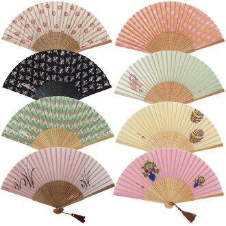 Takehisa yumeji silk 100% fan / gift will enjoy!