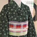 *☆Merry X'mas☆*クリスマスにもおすすめ☆【送料無料】西陣こもの屋オリジナル木綿の着物★...