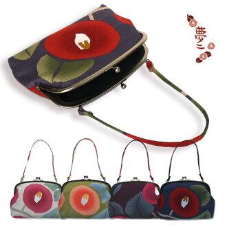 Takehisa yumeji coin purse bag Nishijin ripsaw's original 'Tsubaki' coin purse bag Taisho Roman ♪ retro style coin bag all 8 type-non-10P13oct13_b]