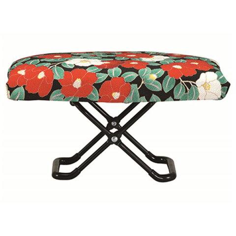 玲 -れい- 正座椅子 (巾着袋付き) 椿 ゆったりサイズ RY-03