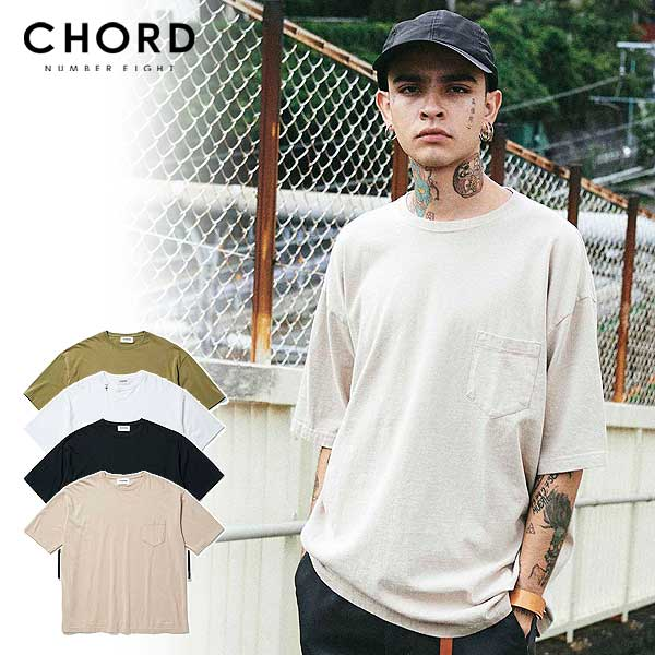 トップス, Tシャツ・カットソー 30OFF SALE CHORD NUMBER EIGHT BIG TEE chordnumbereight ch01-02l1-cs04 T