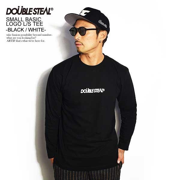 トップス, Tシャツ・カットソー  DOUBLE STEAL SMALL BASIC LOGO LS TEE -BLACKWHITE- 965-14092 T T T doublesteal t