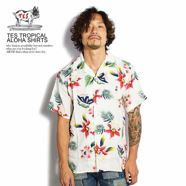 トップス, カジュアルシャツ  The Endless Summer TES TROPICAL ALOHA SHIRTS nv-0574003 fh-9574353 tes