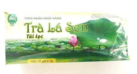 [お茶】[蓮の葉茶】 ベトナム蓮の葉茶 ハーブ茶 健康茶 蓮の葉100% TEA BAG、蓮は睡蓮安静と眠りのお茶 1gX28袋箱 取り寄せ中【代引不可】
