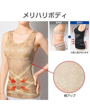 インナー レディース ドレスアップ姿勢フィットインナー 年中 補正下着 補整 上半身 M〜L/L〜LL/LL〜3L ニッセン