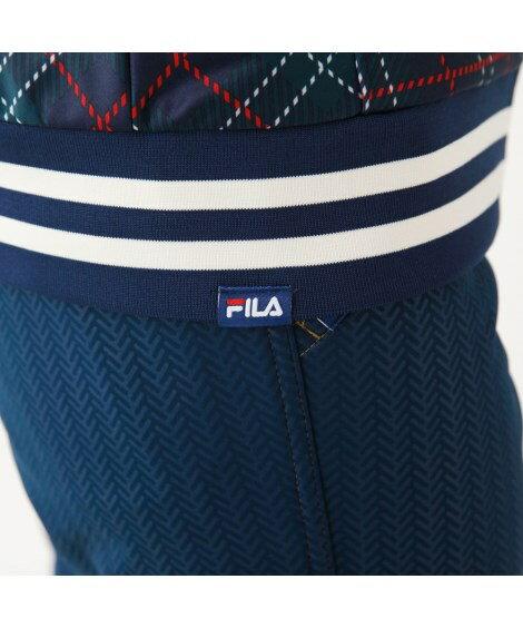 その他のスポーツ・フィットネスウェア|FILAGOLF_防風チェック柄ボンディングジャケット_4L・5L_ニッセン_nissen
