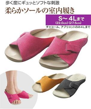 レディース アーチフィッター603 指圧 年中 靴 アプリコット/ローズ 22.0〜22.5/23.0〜23.5/24.0〜24.5cm ニッセン