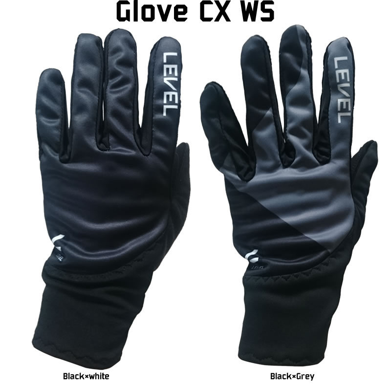 50%OFF レベル LEVEL Glove CX WS 5811UG グローブ クロスカントリースキー メンズ ブラック グレー 手袋 [XCSKI18] 【店頭受取対応商品】[XCITN] [U-50][SALE]半額 在庫処分