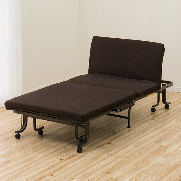 折りたたみベッド(ダブルメッシュ2)ニトリ 玄関先迄納品  1年保証