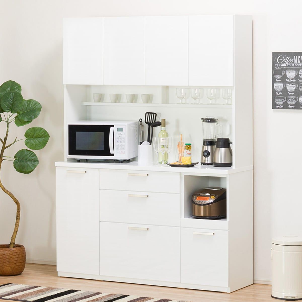 キッチンボード(ソレル140KBWH)ニトリ【配送員設置】【5年保証】
