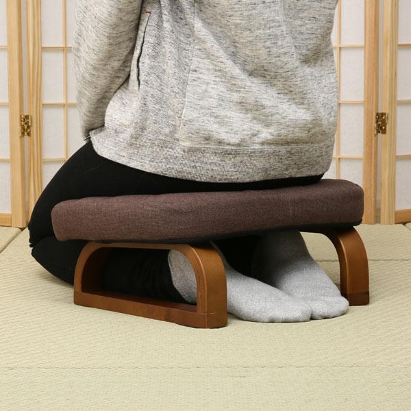 すき間にも収納できるあぐら・正座椅子(ダイチ2)ニトリ 玄関先迄納品 〔合計金額11000円以上対象商品〕