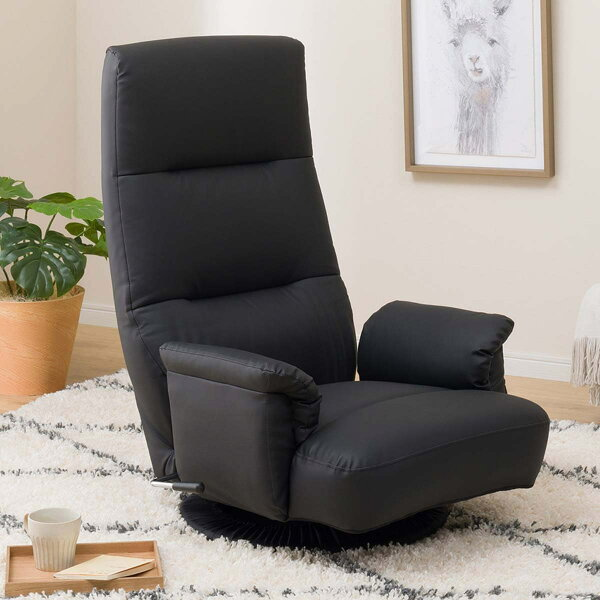 ポケットコイル回転座椅子(NジャックBK)ニトリ 玄関先迄納品  1年保証