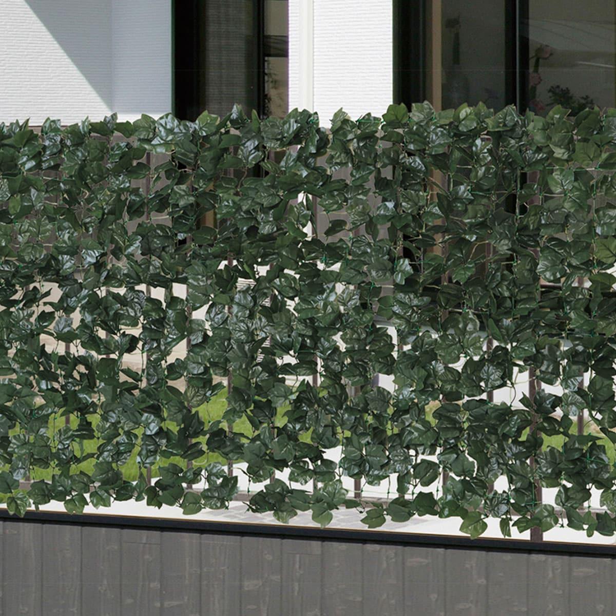 リアルすぎる!目隠しにおすすめのグリーンフェンス10選 デメリットは?のサムネイル画像