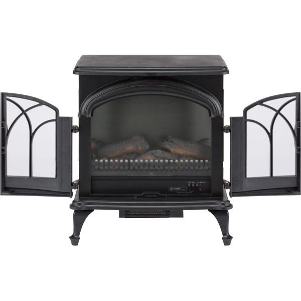 ワイド暖炉型ファンヒーター(BK18)ニトリ【玄関先迄納品】【1年保証】