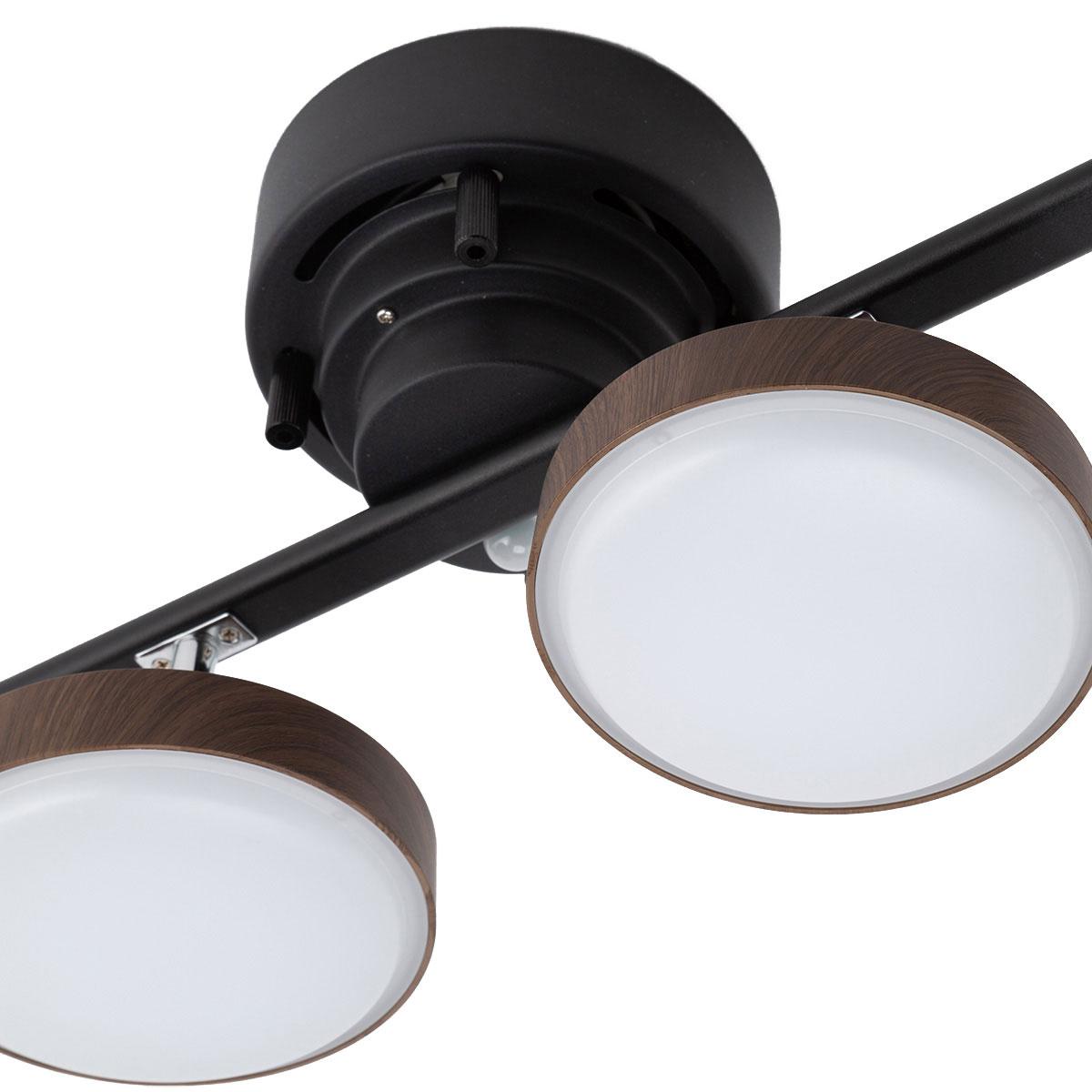 LEDシーリングライトキャトル(YY38W-4BR)ニトリ【送料無料・玄関先迄納品】【1年保証】