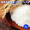 新米 コシヒカリ 5kg 有機 JAS 福島県 広野町 あひる 送料無料 オーガニック
