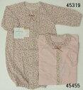 【赤ちゃんの城】オーガニック夏用新生児 ドレス&カバーオール【ネコポス便】【日本製・高品質】