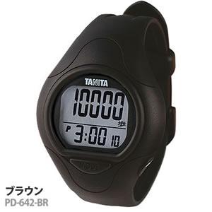 付けてることが気にならない腕時計タイプの歩数計TANITA 手首につける歩数計 PD-642