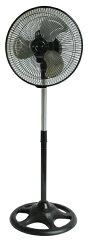 【テクノス】23cm羽根 メカ式扇 扇風機[ブラック] KI-1025 スポーツ