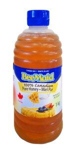 カナダNO1のホワイトハニー♪素直な甘さが人気、パンやヨーグルトはもちろんフルーツやスィーツ...