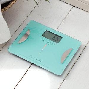 【LEDで光る☆体脂肪メーター搭載!】【送料無料】みえる体組成計(体脂肪メーター付)【LEDで...