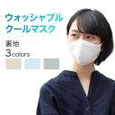 ウォッシャブル クール マスク 日本製 洗える 洗濯可能 東レ接触冷感素材 抗菌・防臭 涼感 小さめ