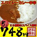 スパイシーカレー 中辛 5食 レトルトカレー【日本全国送料無料】ネコポス
