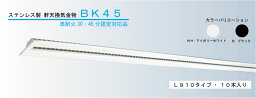 【認定番号:QF030RS-0164】準耐火30分対応 日本化学産業 換気口 ステンレス製 軒天換気金物 BK45 2本入り