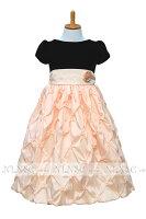 プリンセス上品なベルベット子供ドレス