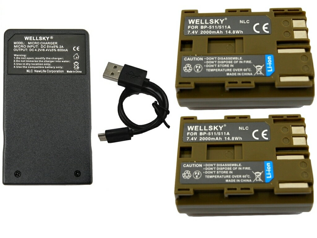 カメラ・ビデオカメラ・光学機器用アクセサリー, 電源・充電器 BP-511 BP-512 BP-511A BP-514 2 USB CG- 580 1 3 Canon EOS 5D EOS 50D EOS 10D